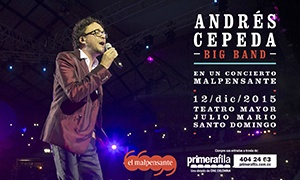 ANDRÉS CEPEDA BIG BAND en Bogotá