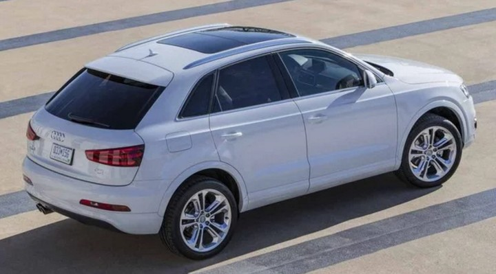 2018 audi q3. beautiful 2018 2018 audi q3 exterior review in audi q3 p