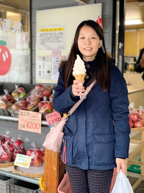 青森蘋果冰淇淋