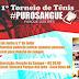 TORNEIO DE TÊNIS PURO SANGUE ACONTECERÁ EM CASA NOVA