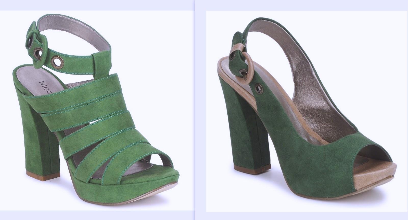 Tendencia zapatos de tacn ancho  NO SOY TU ESTILO