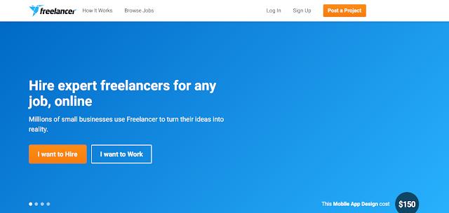 Freelancer -  Top Freelancing website