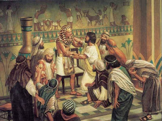 Joseph Could Not Control Himself And Sent All His House Away So It Was Just Brothers He Then Made Known To Them