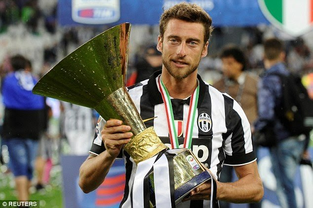 Marchissio bids farewell to juventus after 25 years