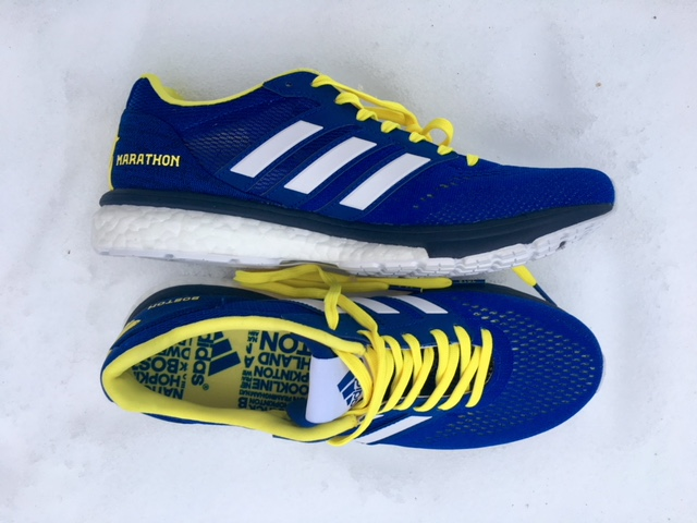 caf6f0e02934 The limited edition includes iconic B.A.A. (Boston Athletic Association)  blue and yellow colorways with a Boston Marathon® unicorn marking on the  heel and ...
