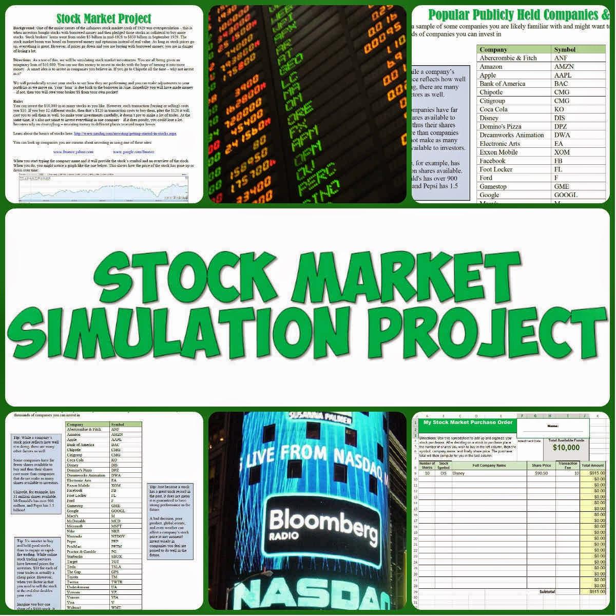 Lesson Plans On Stock Market Australian Forex Trading