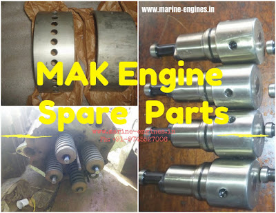 MAK, Engine, Ship Machine, used, recondition, 453, pump, valve, exhaust, piston, block, cylinder, rods, shaft, oil, inlet, 452, 551, M20, 281, 331, 332, 552