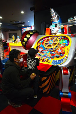 Frankie's Arcade at Tokyo One Piece Tower Japan