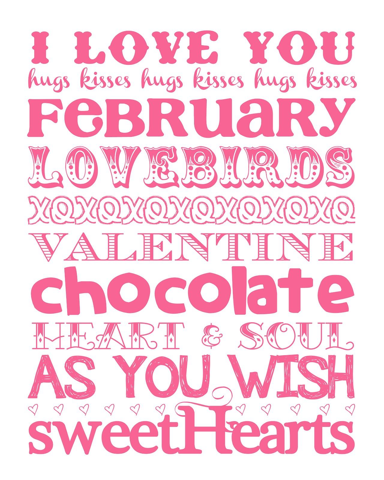 Funky Polkadot Giraffe Love Month Valentine S Day Printable