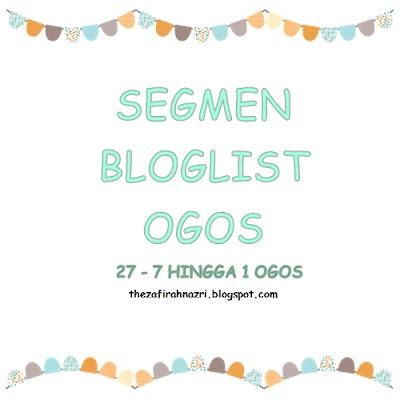 Segmen Bloglist Ogos