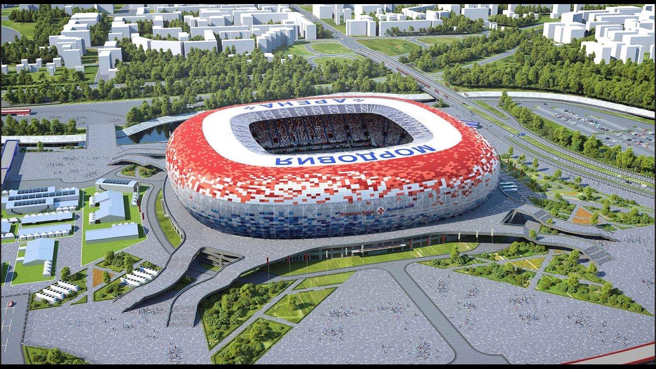 Saransk – Arena Mordóvia - 45.015