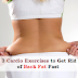 3 Cardio Workouts to Get Rid of Back Fat Fast