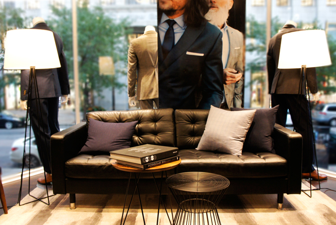 Indochino Boston Showroom
