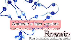 Rosario Tejido a Crochet / Tutorial