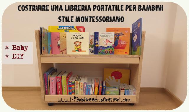 Triloblogger costruire una libreria portatile per bambini for Piani di libreria stile artigiano