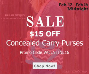 Concealed Carry Purse Sale at GCC