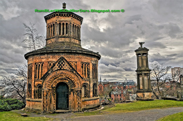 Monteath Mausoleaum, Glasgow Necropolis, Glasgow, Scotland, UK