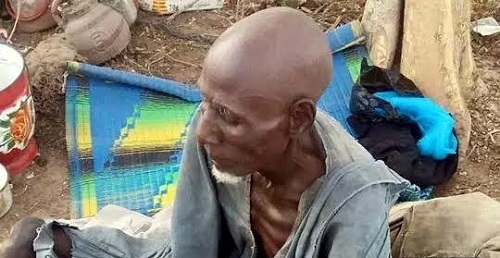 80-Year Old Man Rescued From Boko Haram's Den - PICTURED!