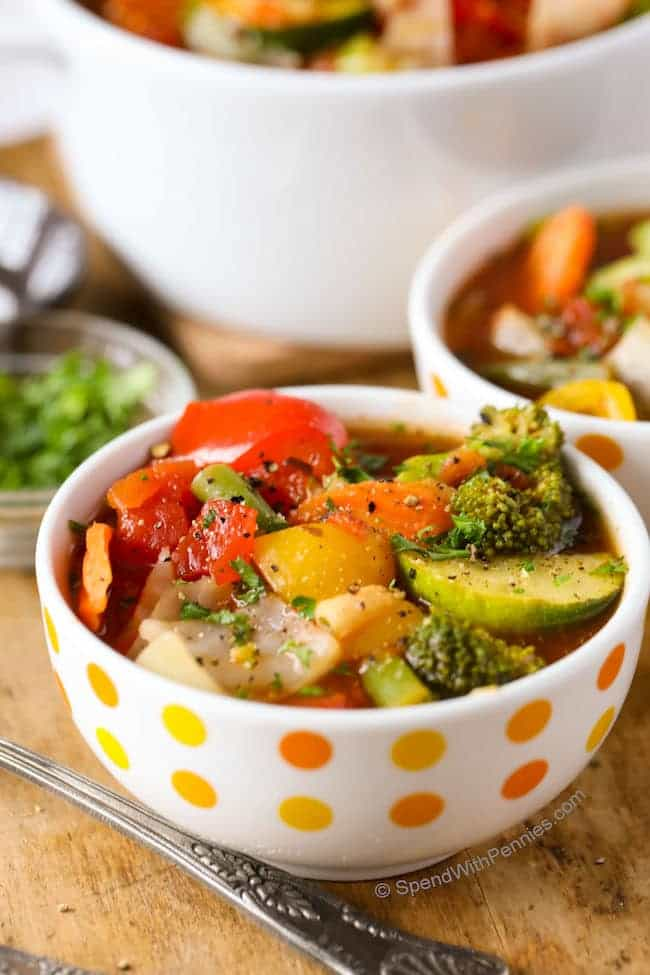 PERFECT WEIGHT LOSS VEGETABLE SOUP RECIPE