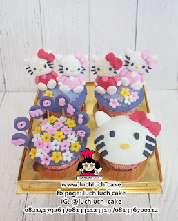 Birthday Cupcake Hello Kitty
