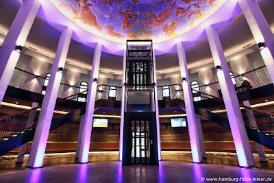 Planetarium Hamburg Innen, Neue Halle