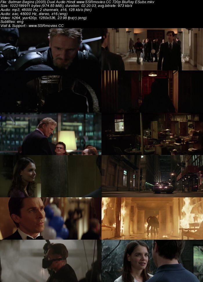 Batman Begins (2005) Dual Audio Hindi Dubbed 720p HD Movie Download