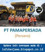 Lowongan Kerja PT PAMA (Pamapersada Nusantara)