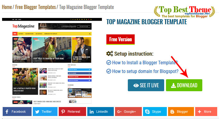 How to install a blogger template easily?