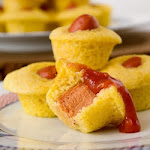 Corndog Mini Muffins