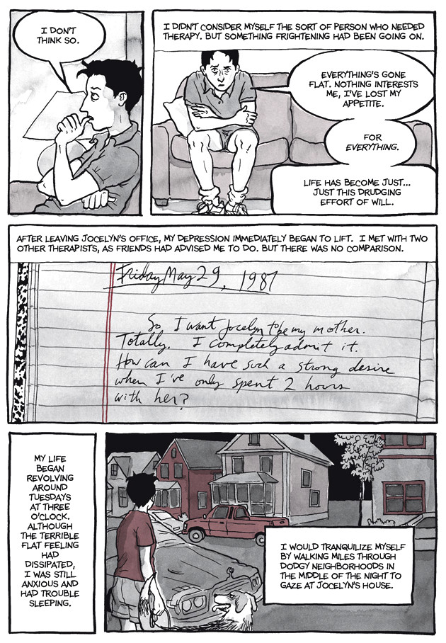 Page 13, Chapter 2: Transitional Objects from Alison Bechdel's graphic novel Are You My Mother
