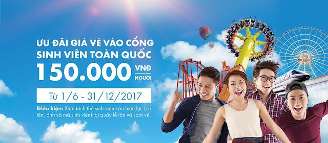 Asia Park công viên châu Á giảm giá chỉ còn 150K - Chudu43.com