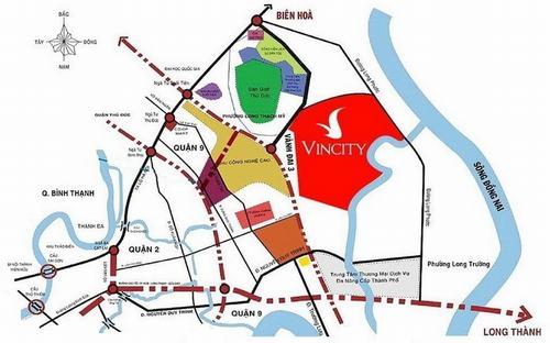 Dự án cao cấp Vincity New Saigon