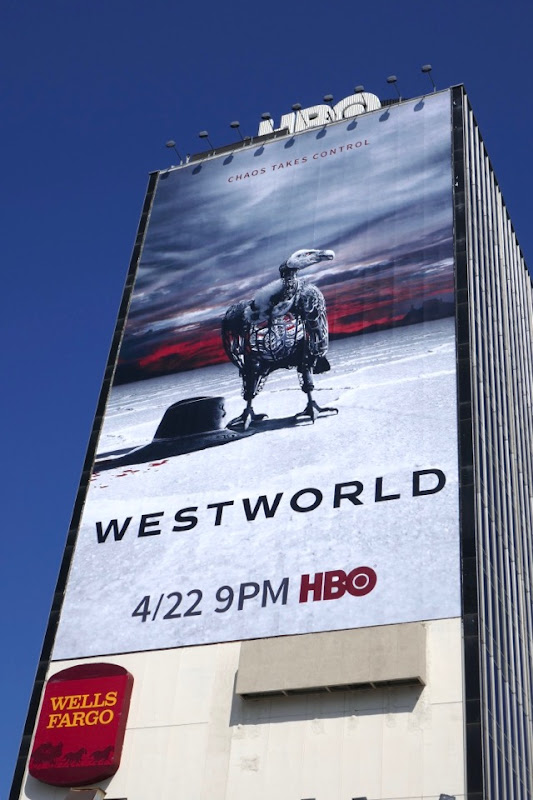 Giant Westworld season 2 billboard