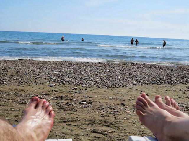 Cyprus Road Trip: Kourion Beach
