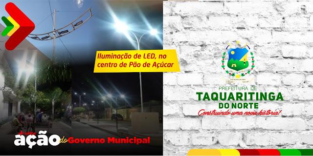 Taquaritinga investe pesado em iluminação pública