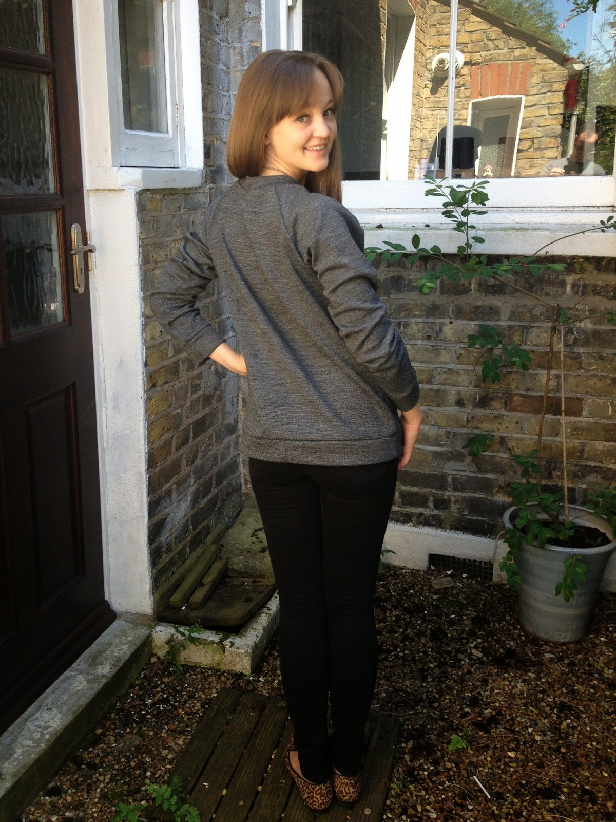 Diary of a Chainstitcher: The White Russian Sweatshirt from Capital Chic Sewing Patterns