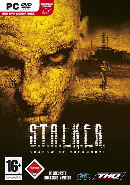 Stalker 1 Shadow of Chernobyl Download Cover Free Game