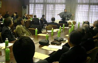 商工会議所 三遊亭楽春講演会 「落語に学ぶカスタマーサービス」
