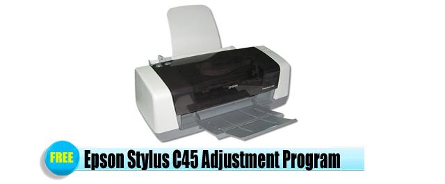 Epson Stylus C45 Adjustment Program