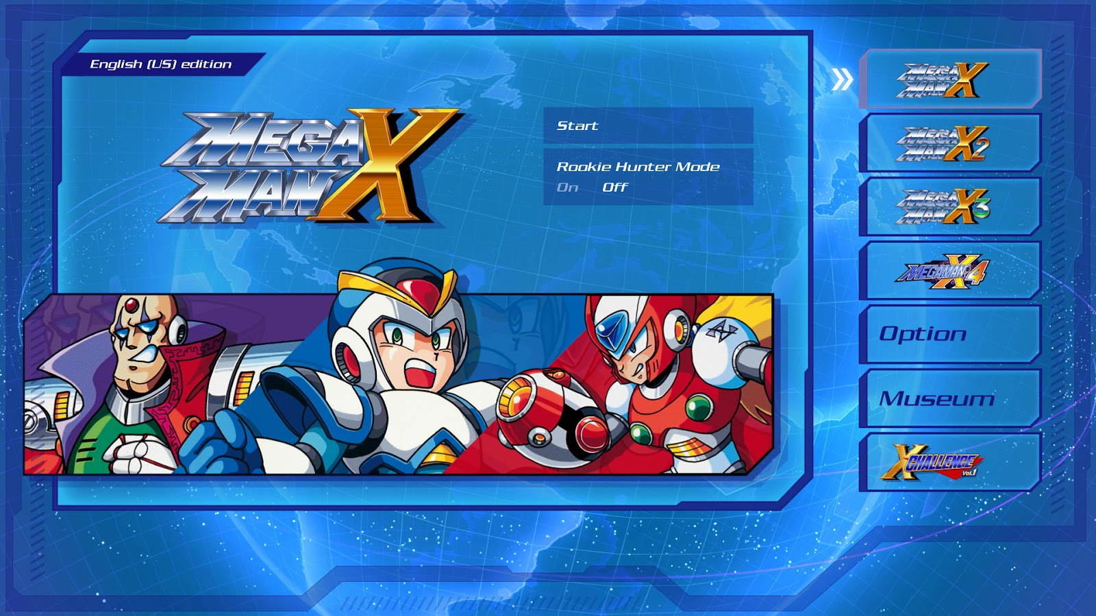 Mega Man X Legacy Collection 1+2 PC ESPAÑOL (SKIDROW) 1