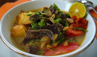 Resep Masakan Sunda Khas Karawang: Resep Masakan Soto Tangkar Khas Karawang
