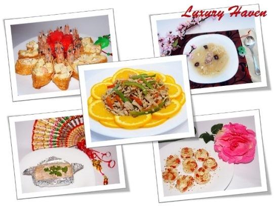 cookforfamily chinese new year reunion dinner menu