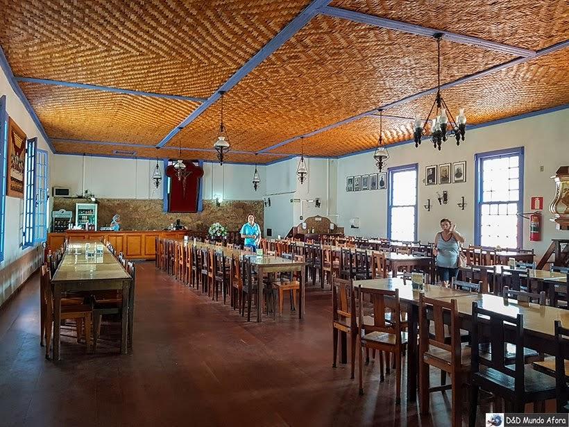 Restaurante da Pousada do Caraça - Onde se hospedar no Santuário do Caraça
