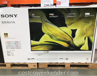 Sony KD-75X780F 75in 4k Ultra HD TV: great as the centerpiece for your entertainment system