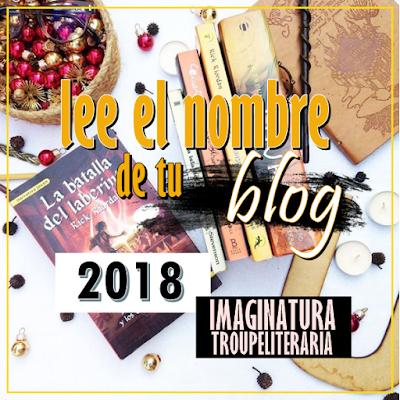 Reto Literario: Lee el nombre de tu blog