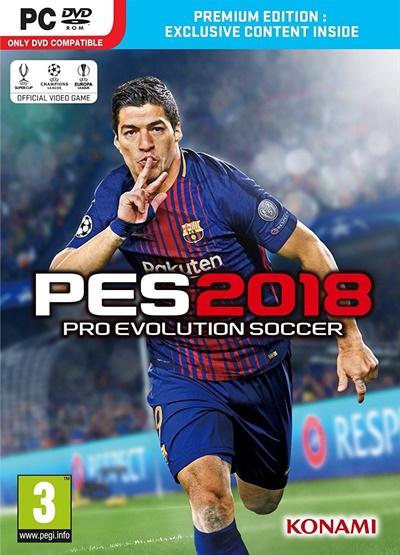 โหลดเกมส์ Pro Evolution Soccer 2018