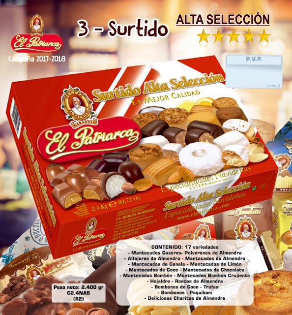 Surtido Alta Selección El Patriarca 2.400 g - Comercial H. Martín sa