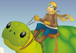 Flying Turtles detail