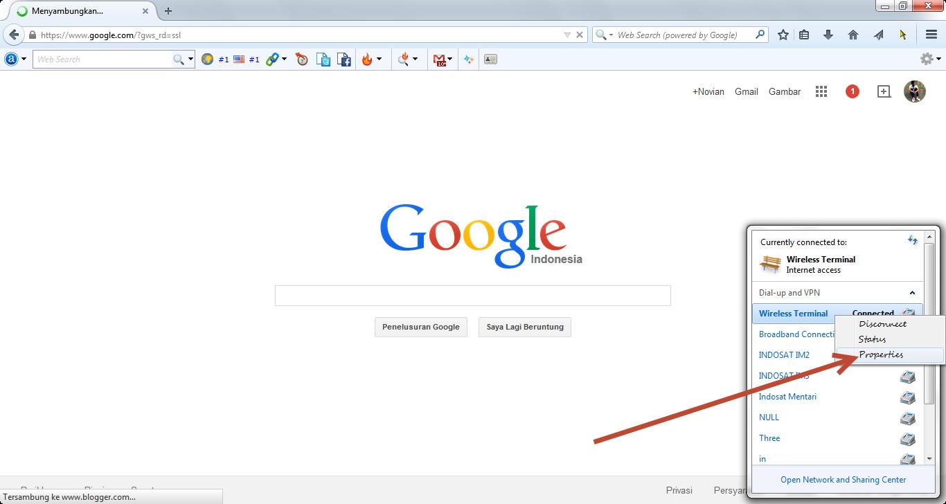 edit dns google