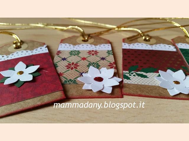 tags chiudipacco per impacchettare i regali di natale oro e bianco